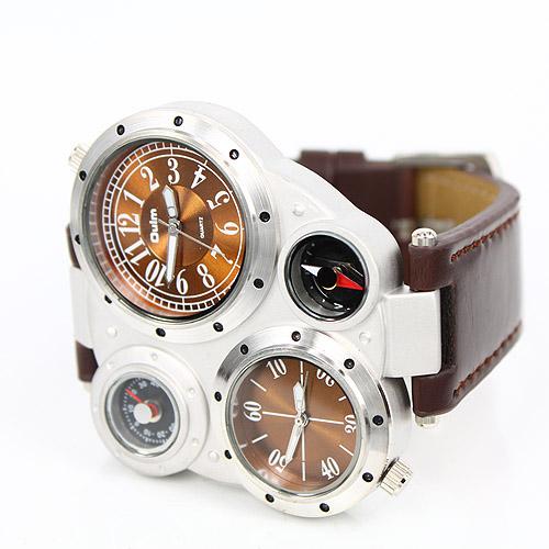 Мужские часы   Мужские наручные часы OULM 9415 Brown fc917050550